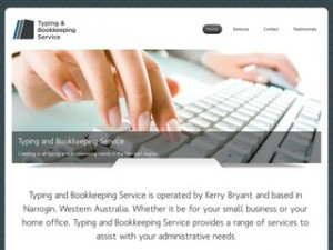 Typing and Bookkeeping Service